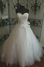 232W DISNEY FAIRY TALE WEDDINGS ALFRED ANGELO 241 SZ 12 $1300  WEDDING DRESS NWT