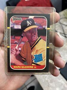 1987 Donruss Mark McGwire Oakland Athletics #46 Baseball Card Rated Rookie