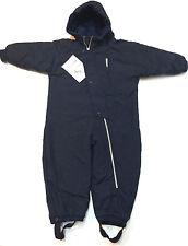L.L. Bean Boy Girl Blue Snowsuit Fleece Lined Ski Snowboard Hooded Size 3T New