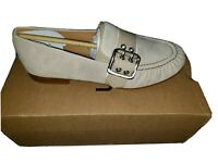 UGG Women's Charlotte Suede slip on Loafers flats shoes Beige Size 7