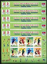10 x Korea Kleinbogen 5311-14 Olympia Olympic Peking 2008 **