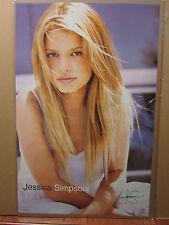 Jessica Simpson Hot girl man cave car garage Vint Poster 1999 1310