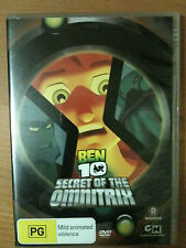 BEN 10 ~ SECRET OF THE OMNITRIX ~ DVD ~ PAL REGION 4