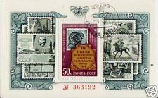 RUSIA 1974 FILATÉLICA SY HOJA SG MS4326 CV FU