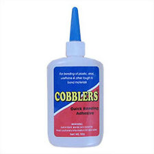 Cobblers Quick Bonding Super Glue Instant Shoe Repair Adhesive Super Strong 2 oz