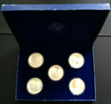 2006 FIGURES OF NOTE 5 COIN SILVER COIN SET IN PROOF QUALITY
