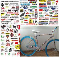 3Sheets/set Cycling Bicycle Sticker Mountain Bike Skateboard Decal Mixed Sticker