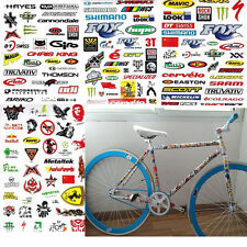 MultiColor Bicycle Decals And Stickers EBay - Vinyl stickers for bikes