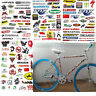 3 Sheet Car Bicycle Cycling Sticker MTB Bike Vouge Skateboard Decal Stickers
