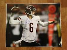 JAY CUTLER 'CHICAGO BEARS' 2014 NFL QUARTER BACK SIGNED 16X20 PICTURE *COA 2