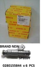 6ps set  BRAND NEW FACLON AU SERIES I, 2, 3 V6 BOSCH FUEL INJECTORS 0280155844