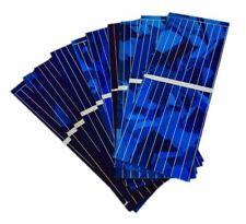 Módulo de cristal de las células de panel solar cargador de batería Banco de Alimentación Poly cristalino Nuevo