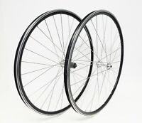 Speed-Tuned 700c Road Bicycle Wheelset 10/11 Speed QR Front and Rear New! Black