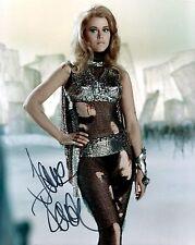 Jane Fonda signed 8x10 Barbarella photo / autograph
