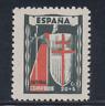 ESPAÑA (1943) NUEVO SIN FIJASELLOS MNH SPAIN - EDIFIL 971 (20 cts + 5 cts) LOTE3