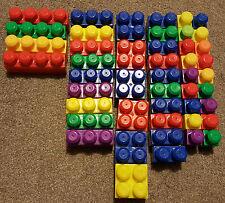 Mega Bloks Building Blocks Construction Toy Assorted Bundle - 89 Pieces