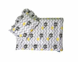 Baby Bedding Set For Strollers Baby Cradles Blanket With Pillow Elephant Umbrell
