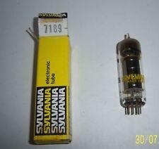 SYLVANIA 7189  USA LAMPE TUBE RADIO TSF AMPLI A LAMPE .