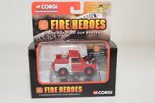 # CORGI FIRE HEROES CS90065 LAND ROVER CITY OF BATH MINT BOXED