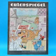 Eulenspiegel 42/1986 | DDR-Wochenzeitung für Satire und Humor | Geburtstag A