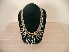 Gold Colored. Women's Necklace. Floralends.