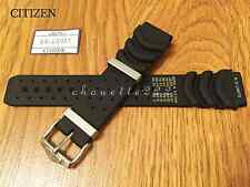 Citizen 59-G0081 Genuine Black Rubber Watch Band 20mm Eco-Drive, Aqualand Duplex