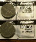 Energizer ECR2032 CR 2032 (2 piece) Lithium 3V Battery New Authorized Seller