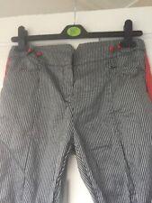 Armani Ladies Trousers Size 10 Side Stripe