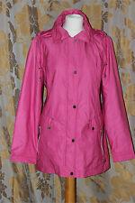 Ellie Louise Ladies Pink Raincoat Jacket size 14