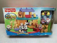 ** RARE*** Mattel Fisher-Price Little People Noah's Ark, NEW IN BOX 2002,  B1266
