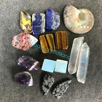 15pcs combination of natural quartz crystal mineral rough specimens 55G AZ04