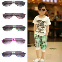 ANTI-UV Kids Sunglasses Child Boys Girls Shades Baby Goggles Glasses Outdoor YK