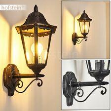 Außen Wand Beleuchtung schwarz/silber Terrassen Haus Tür Einfahrt Balkon Lampen