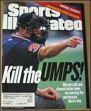 10/19/1998 Sports Illustrated Kill The Umps Umpires Yankees ALCS NL Paul Kariya