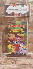 Gummi Bears - Welcome To Gummiglen Disney VHS Video Tape Cassette Childrens TBLO