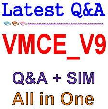 VEEAM Certified Engineer VMCE9 VMCE_V9 Exam QA PDF+SIM