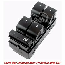 Fits 2007-2016 GMC Acadia Power / Master Window Switch Left/Driver RED LIGHTS