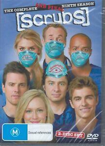 SCRUBS The Complete Ninth 9th Season 9 (2 x DVD Set) NEW & SEALED Free Post