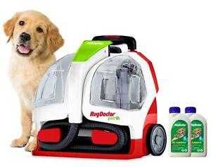 Rug Doctor Pet Portable Spot Cleaner 2 x 500ml Pet Formula Cleaner 2Yr Warranty