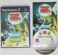 PS2 Top Trumps Horror & Predators  Playstation 2 (2007) SLES 54634
