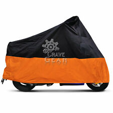 L Orange Outdoor Motorcycle Cover For Honda CB 450 650 750 599 919 CBR 250R 125R