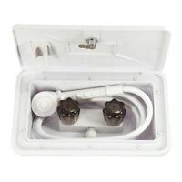 RV Exterior Shower Box Kit for Boat Marine Camper Motorhome Travel Trailer