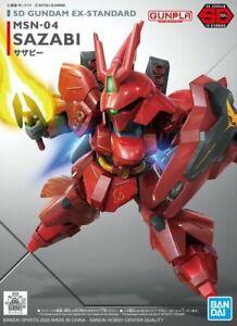 BANDAI SD Gundam EX Sazabi standard model kit