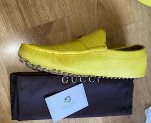 Authentic GUCCI Moccasins Size 43 EURO/10US / 9UK Comes With Box