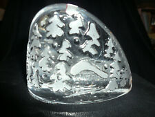 Latusatu vintage art glass paperweight 2801-075