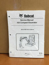Bobcat 425 Compact Excavator Service Manual Shop Repair book PN# 6904866