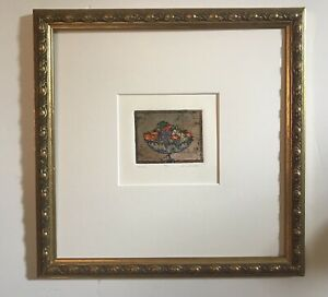 Original Etching By Daniele Desplan. Titled Venise Numbered/Signed. Limited Ed.