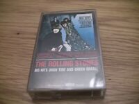 """THE ROLLING STONES - """"BIG HITS"""" HIGH TIDE AND GREEN GRASS CASSETTE TAPE"""