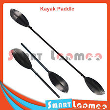 Kayak Canoe Paddle 2 Blade 220cm 3 Position Adjustable Aluminium Split Shaft