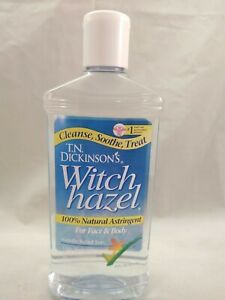 T.N. Dickinson's Astringent,Natural, 14% Alcohol Witch Hazel 16 fl oz (473 ml)